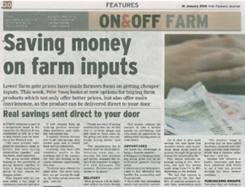 Irish Farmers Journal Article 16/01/2010