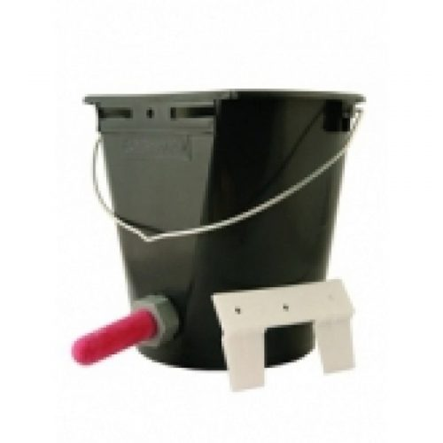 CALF BUCKET + TEAT & VALVE